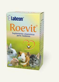 LABCON ROEVIT SUPLEMENTO VITAMINICO PARA ROEDORES 15ML