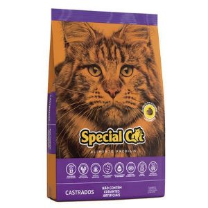 RAÇÃO SPECIAL CAT PARA GATOS CASTRADOS