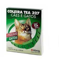KONIG COLEIRA TEA 327 ANTIPARASITÁRIA PARA GATOS