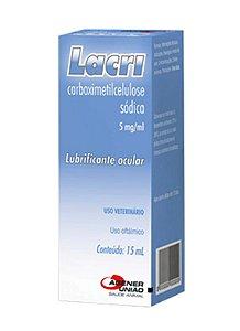 LUBRIFICANTE OCULAR COLÍRIO LACRI - AGENER UNIÃO 5MG/ML