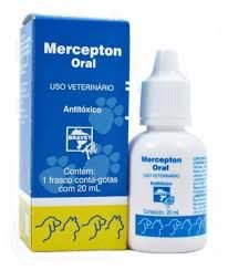 BRAVET MERCEPTON ORAL ANTITÓXICO 20ML