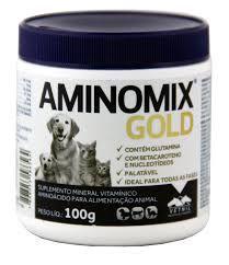 COMPLEXO VITAMÍNICO - VETNIL AMINOMIX GOLD 100G