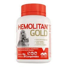 VETNIL HEMOLITAN GOLD 30G - 30 COMPRIMIDOS