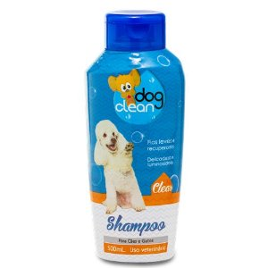 DOG CLEAN SHAMPOO CLEAN PELOS CLAROS 500ML