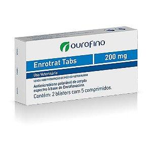 OUROFINO ENROTRAT TABS 200MG - 5 COMPRIMIDOS