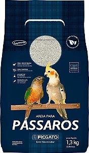 AREIA HIGIÊNICA PARA PÁSSAROS 1,3KG