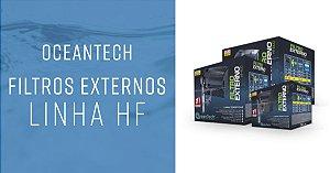 OCEANTECH FILTRO EXTERNO HANG ON HF-100 180L/H 127V PARA AQUÁRIOS ATÉ 40L