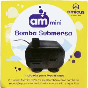 AMICUS AM MINI BOMBA SUBMERSA - BIVOLT