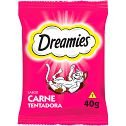 DREAMIES PETISCO PETISCO SABOR CARNE PARA GATOS ADULTOS - 40G