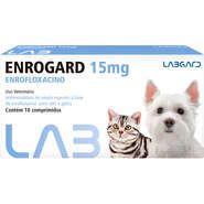 LABGARD ENROGARD 15MG - ANTIMICROBIANO PARA CÃES E GATOS COM ATÉ 5KG