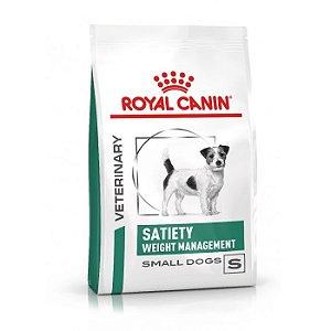 RAÇÃO ROYAL CANIN WEIGTH MANAGEMENT SATIETY SMALL DOG 7,5KG PARA CÃES ADULTOS DE RAÇAS PEQUENAS