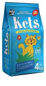 Areia Sanitária Alfapet Kets para Gatos