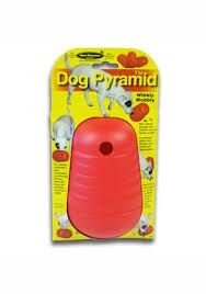 BRINQUEDO EDUCATIVO DOG PYRAMID VERMELHO GRANDE