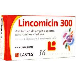 LABYES ANTIBIÓTICO LINCOMICIN 300 - 16 COMPRIMIDOS