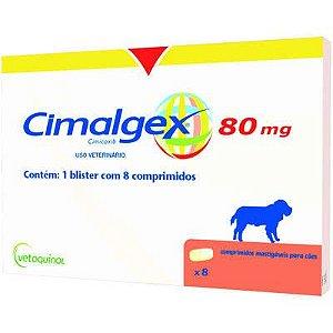 CIMALGEX 80MG - 8 COMPRIMIDOS