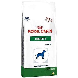 RAÇÃO ROYAL CANIN OBESITY PARA CÃES EM TRATAMENTO