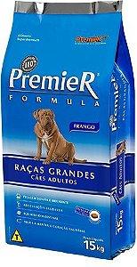RAÇÃO PREMIER FORMULA RAÇAS GRANDES ADULTO SABOR FRANGO