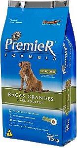 RAÇÃO PREMIER FORMULA RAÇAS GRANDES ADULTOS - SABOR CORDEIRO
