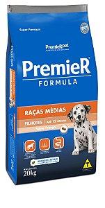 RAÇÃO PREMIER FORMULA PARA CÃES FILHOTES DE RAÇAS MÉDIAS