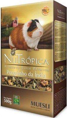 ALIMENTO SUPER PREMIUM NUTRÓPICA PORQUINHO DA ÍNDIA MUESLI