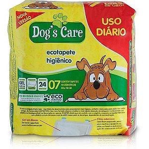ECOTAPETE HIGIÊNICO DOGS CARE USO DIÁRIO