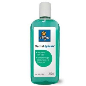 PET SOCIETY DENTAL SPLASH 240ML