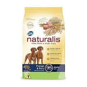 Ração Naturalis para Cães Adultos sabor Frango e Peru 20kg