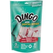 OSSO DINGO MINI DENTAL BONES COM 7 UNIDADES