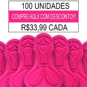 100 UNIDADES - Forro Feminino Importado - PAD-07 - GEL
