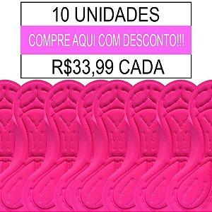 10 UNIDADES - Forro Feminino Importado - PAD-07 - GEL