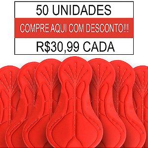 50 UNIDADES - Forro Ciclismo Print - PAD-08 - GEL