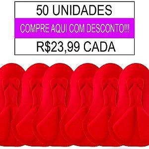 50 UNIDADES - Forro Ciclismo Feminino - PAD-05 - GEL