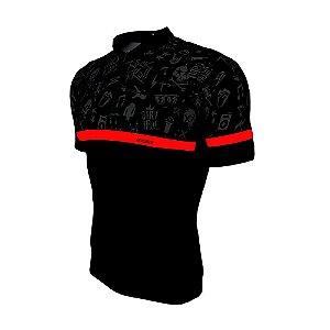 Camisa Bike Rock Infantil - PTO