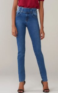 CALÇA JULIANA SKINNY DARK BLUE - AZUL | REF: 2208