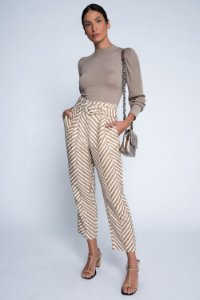 CALCA CLOCHARD MAXI CHEVRON - ESTAMPADO | REF: I1AFCL02