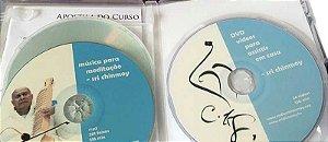 Kit com com 2 CDs, 1 DVD e apostila com mantras