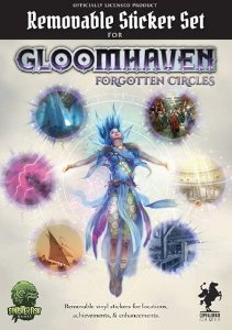 Gloomhaven: Forgotten Circles - Removable Sticker Set