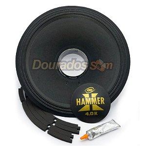 Kit Reparo para Alto Falante Eros E-15 Hammer 4.0k 4R