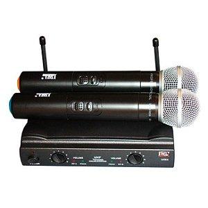 Microfones sem fios JWL U-585 dinâmico preto unidirecional
