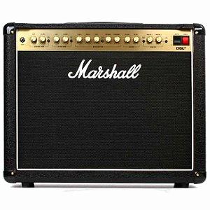Amplificador para Guitarra Valvulado Combo Marshall DSL40CR 40W