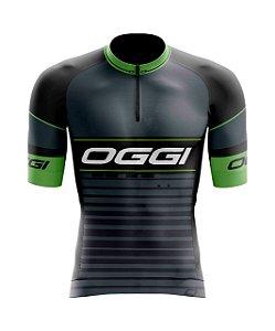 Camisa Ciclismo - Oggi Cinza Chumbo