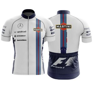 Camisa de Ciclismo Mercedes