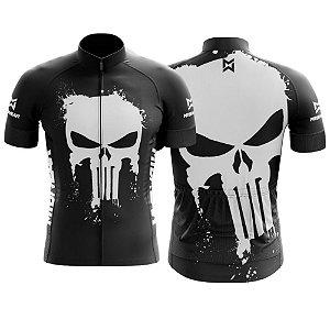 Camisa de Ciclismo MTB Caveira