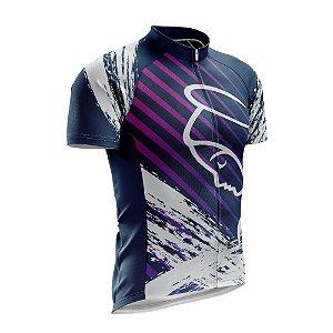 Camisa de Ciclismo Nossa Senhora - Azul