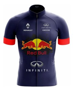 Camisa de Ciclismo Red Bull