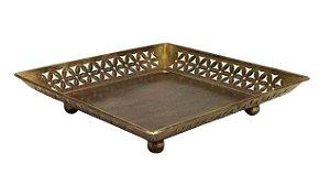 Centro de Mesa em Ferro e Bronze Chattisgarh M