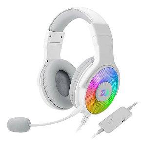 Headset Gamer - Redragon Pandora 2 RGB Branco