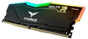 Memória Team Group - 8GB (1X8) DDR4 2666MHZ - T-FORCE DELTA RGB TF3D48G2666HC16C01