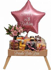 Bandeja Feliz Aniversário Priscila