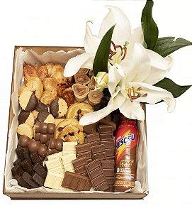 Caixa Premium amo Chocolate